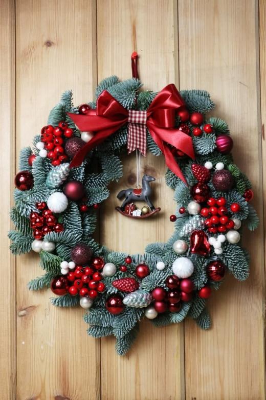 Рождественский венок W1