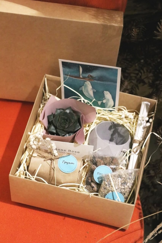 Подарочный набор Creative Succulens BOX №92