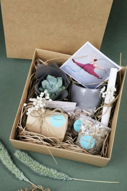 Подарочный набор Creative Succulens BOX №149